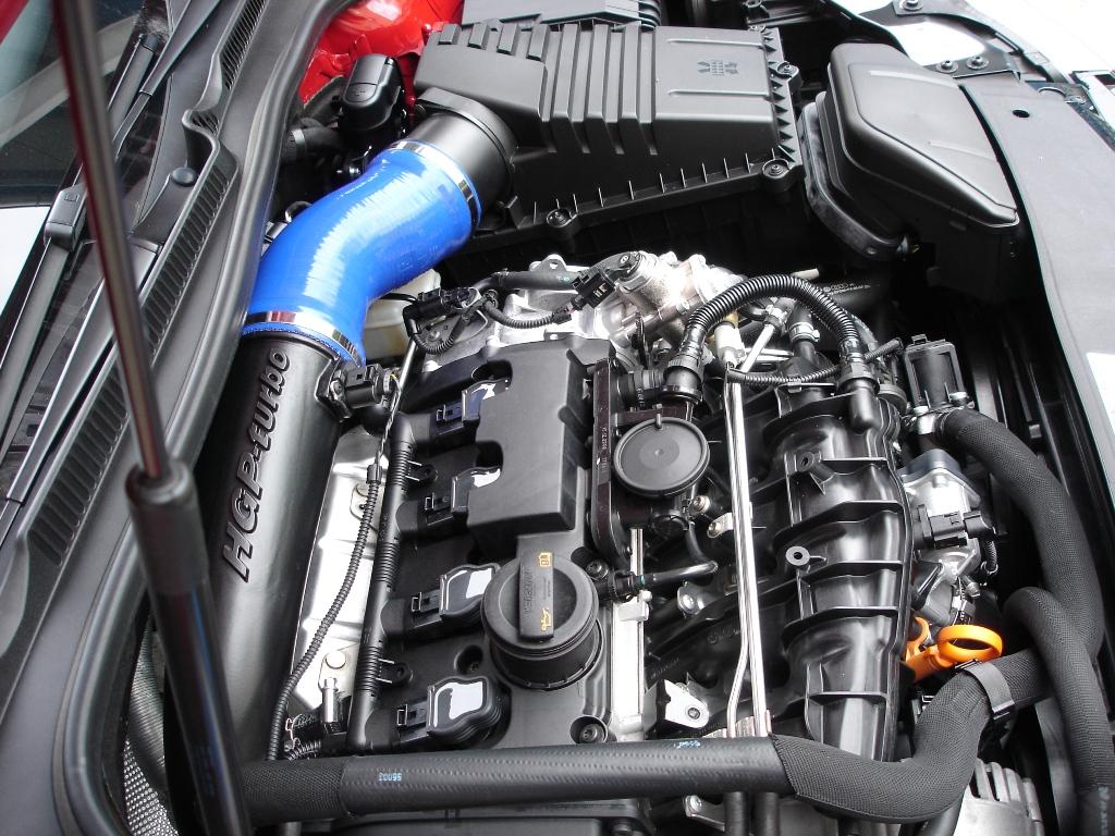 VW Golf VI R HGP Turbonachrüstung GmbH
